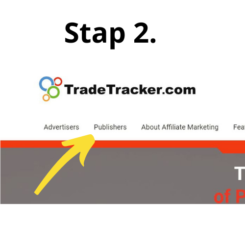 Tradetracker stap 2