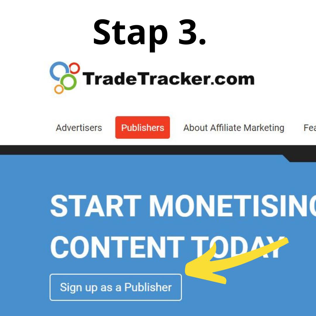 Tradetracker stap 3